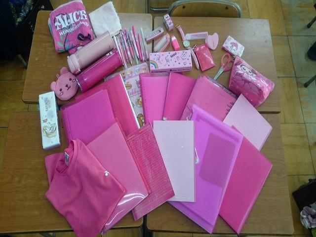 2月28日「Pink shirt day」を実施しました