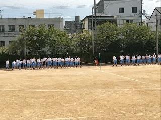1年生 ~体育祭の練習~