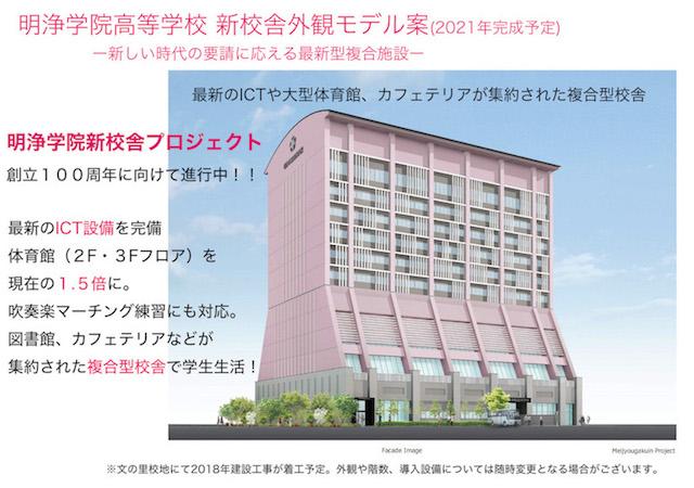 新たな時代の要請に応える最新型複合施設ー新校舎外観モデル案公開ー