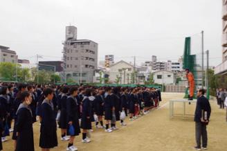 阿倍野消防署のご協力による避難訓練が実施されました