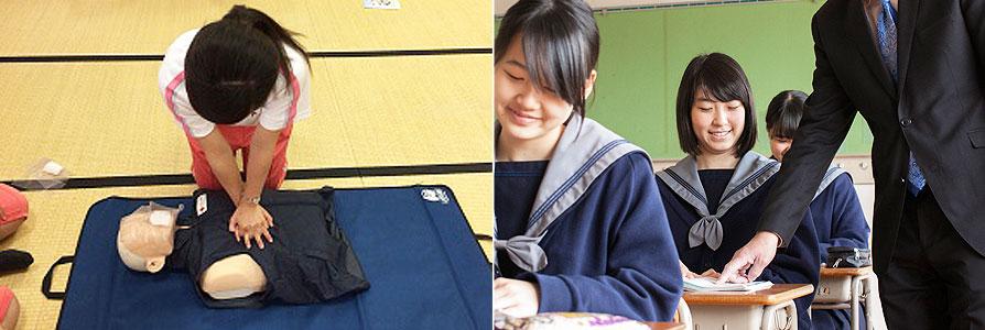 夏休み高校生看護1日体験/就職講習/夏期特別講習/漢字検定/私学展(OMM)