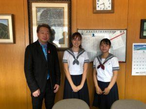 外国人留学生が1年生特進コースに入学しました!
