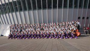 吹奏楽部が本年度も偉業を達成!マーチングバンド全国大会の出場が決定しました。