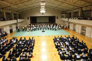 全日本吹奏楽コンクール出場壮行会