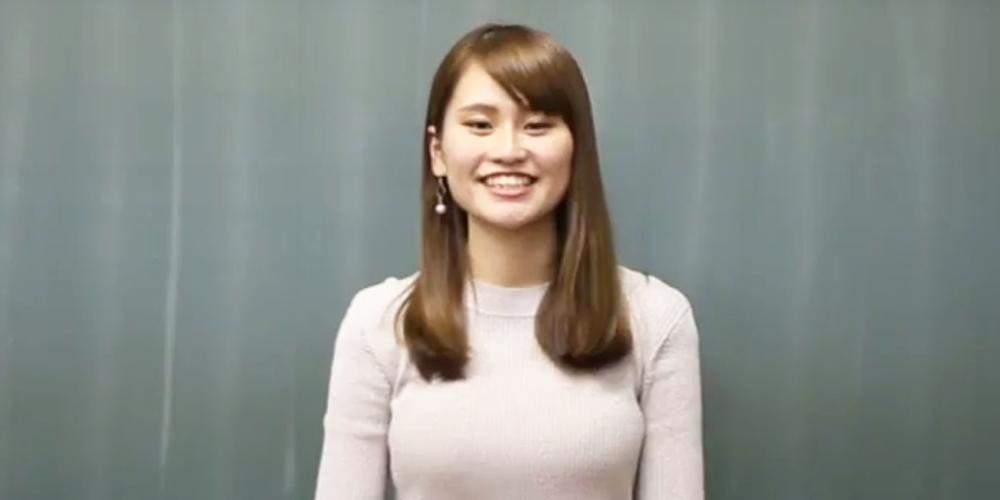 神戸松蔭女子学院大学 竹内 芽依さん