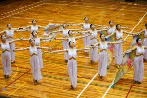 【吹奏楽部】カラーガード部門 全国大会