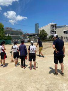 ソフトテニス講座を行いました!
