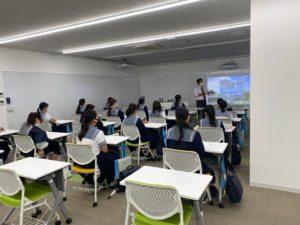藍野大学で体験授業を受けました!