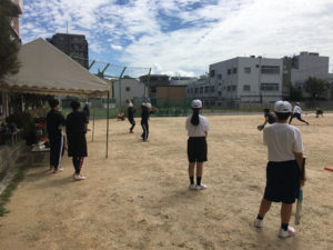 第3回オープンスクール(ソフトボール部)