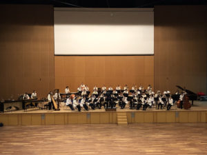 10/17(日)【吹奏楽部】ホール練習を行いました!